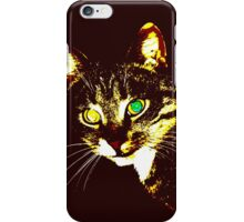 Stylized cat 3 iPhone Case/Skin
