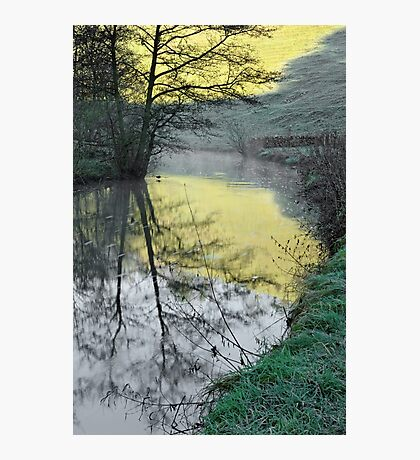 Reflections of Fishpond Bank Photographic Print