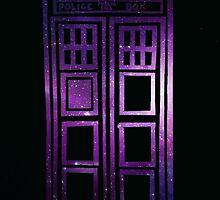 Galaxy TARDIS by lotifer