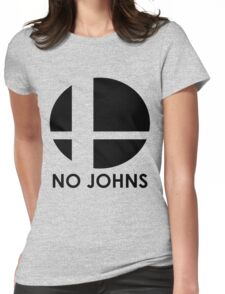 No Johns  Womens Fitted T-Shirt