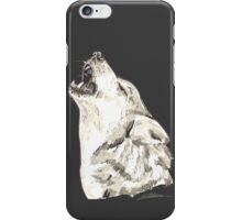 Spirit of Wolf - Shamanic Art iPhone Case/Skin