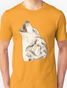 Spirit of Wolf - Shamanic Art T-Shirt