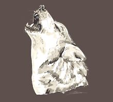Spirit of Wolf - Shamanic Art Unisex T-Shirt