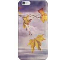 Faded Leaves - JUSTART ©  iPhone Case/Skin