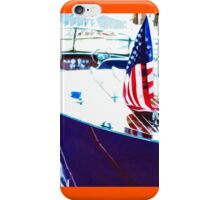 Docked Classic Wooden Craft Abstract iPhone Case/Skin