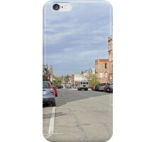 Looking Up Main Street iPhone Case/Skin