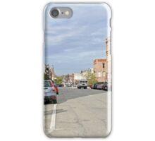 Looking Up Main Street iPhone Case/Skin