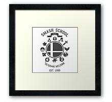 Smash School - Smash Veteran Framed Print
