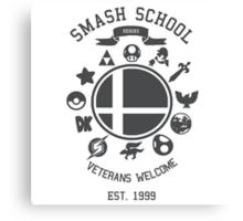 Smash School - Smash Veteran Canvas Print