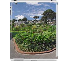 Queen Mary Gardens, Falmouth iPad Case/Skin