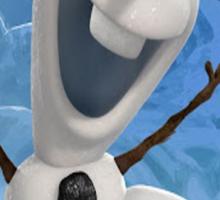 Olaf from Frozen Sticker