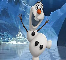 Olaf from Frozen by elefant