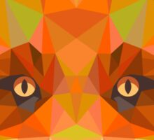Abstract Fox Sticker