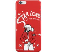 Star Lord Vs The Galaxy iPhone Case/Skin