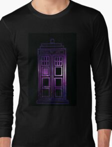 Galaxy TARDIS Long Sleeve T-Shirt