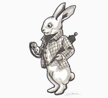 The White Rabbit - Alice in Wonderland Kids Tee