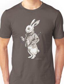 The White Rabbit - Alice in Wonderland Unisex T-Shirt
