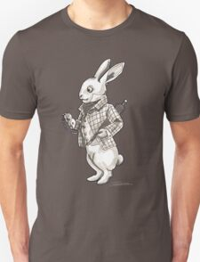 The White Rabbit - Alice in Wonderland T-Shirt