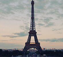 Eiffel tower by rachelsteimel