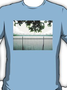 Trees Over CP Reservoir Fence T-Shirt