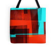 Red Layer Tote Bag