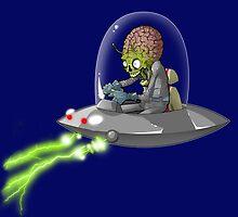 Martian Attack by mingmonger