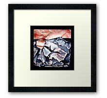 PUZZLE PIECE #102 Framed Print