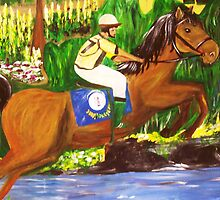 Kentucky Derby Horse by Gretchen Smith by Gretchen Smith