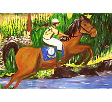 Kentucky Derby Horse by Gretchen Smith Photographic Print