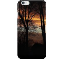 Skyfire - sunset on New Years Eve iPhone Case/Skin