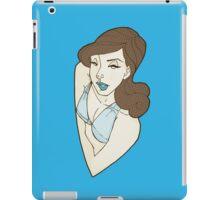 50's Girl  iPad Case/Skin