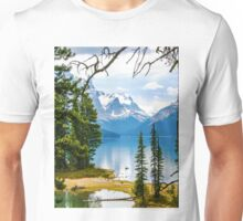 Canadian Rockies, Natural beauty Unisex T-Shirt