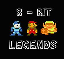 8Bit Legends by voidex11