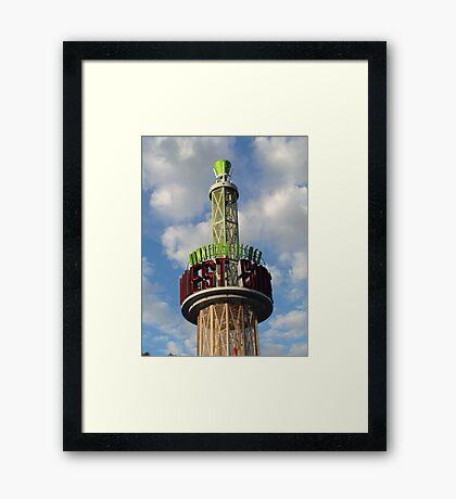 Downtown Disney Framed Print