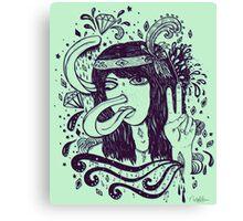 Missstresstique Canvas Print