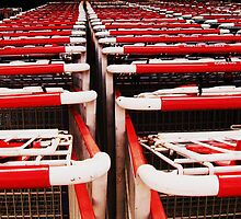 Sea of carts by Barbara Morrison