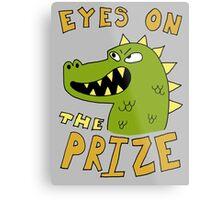 Eyes on the prize dinosaur Metal Print