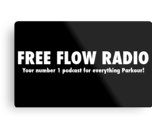 Free Flow Radio #1 Metal Print