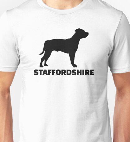 Staffordshire Terrier Unisex T-Shirt