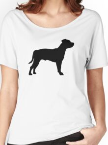 Staffordshire Terrier Women's Relaxed Fit T-Shirt
