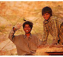 Smiling Jodhpur Photographic Print
