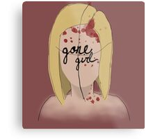 Amazing Amy - Gone Girl Metal Print