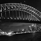 Sydney Harbour Bridge at Night by MissEm