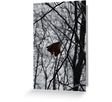 Loneliness Greeting Card