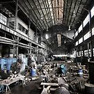Throw Away America Series - Kekaha Sugar Mill, Kauai, Hawaii by Philip James Filia