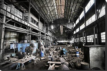 Throw Away America Series - Kekaha Sugar Mill, Kauai, Hawaii by Philip James Filia