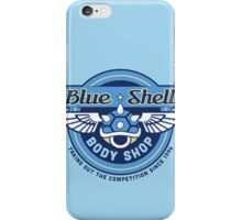Blue Shell Auto Body iPhone Case/Skin