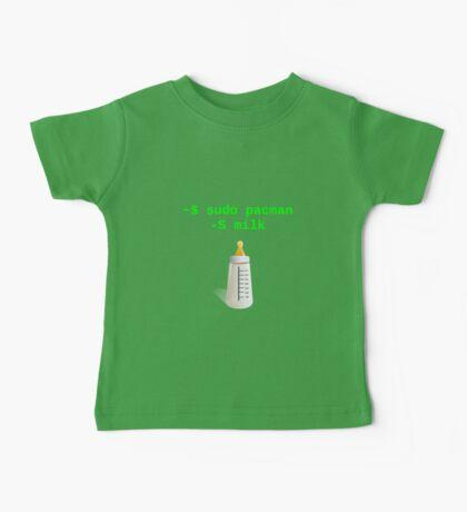 Linux Baby sudo pacman -S milk Baby Tee