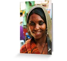Pushkar India Greeting Card