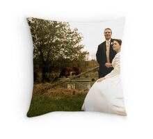 country sophistication   Throw Pillow